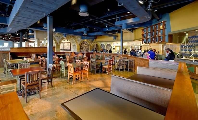 Restaurante Spice Mill no Seaworld Orlando