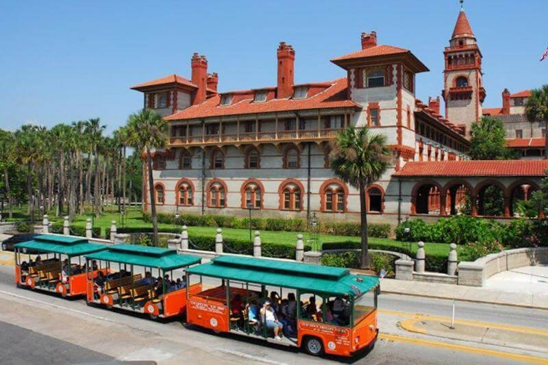 Trolley Hop on Hop off em Saint Augustine