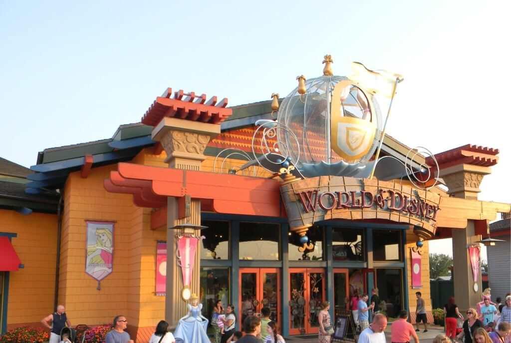 Loja World of Disney em Orlando
