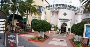Refeição com personagens no Cafe La Bamba em Orlando 2