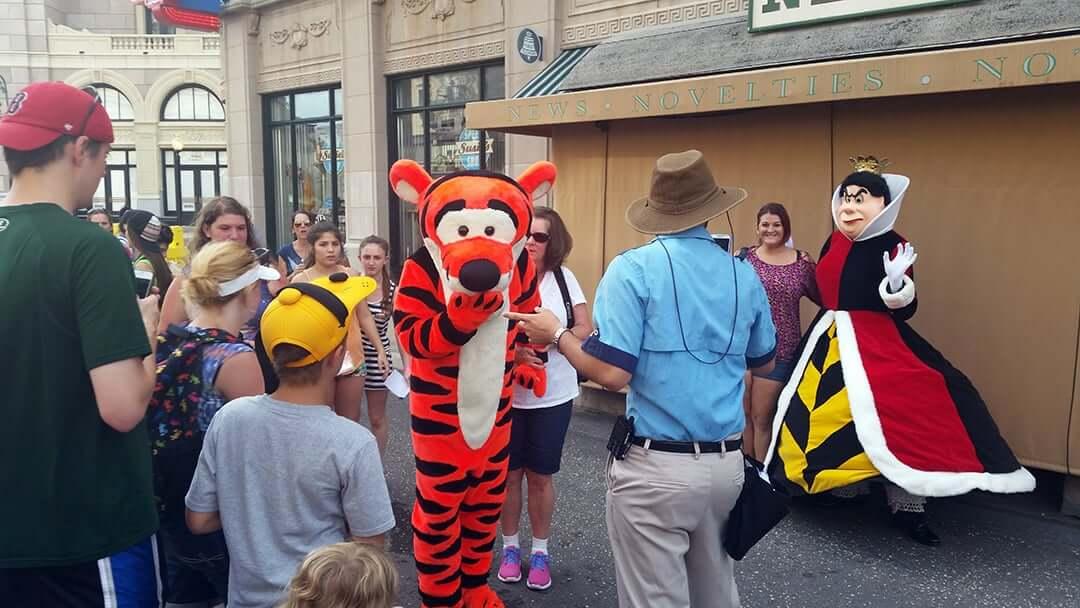 Character Palooza e o encontro com personagens Tigrão e princesa na Disney Orlando