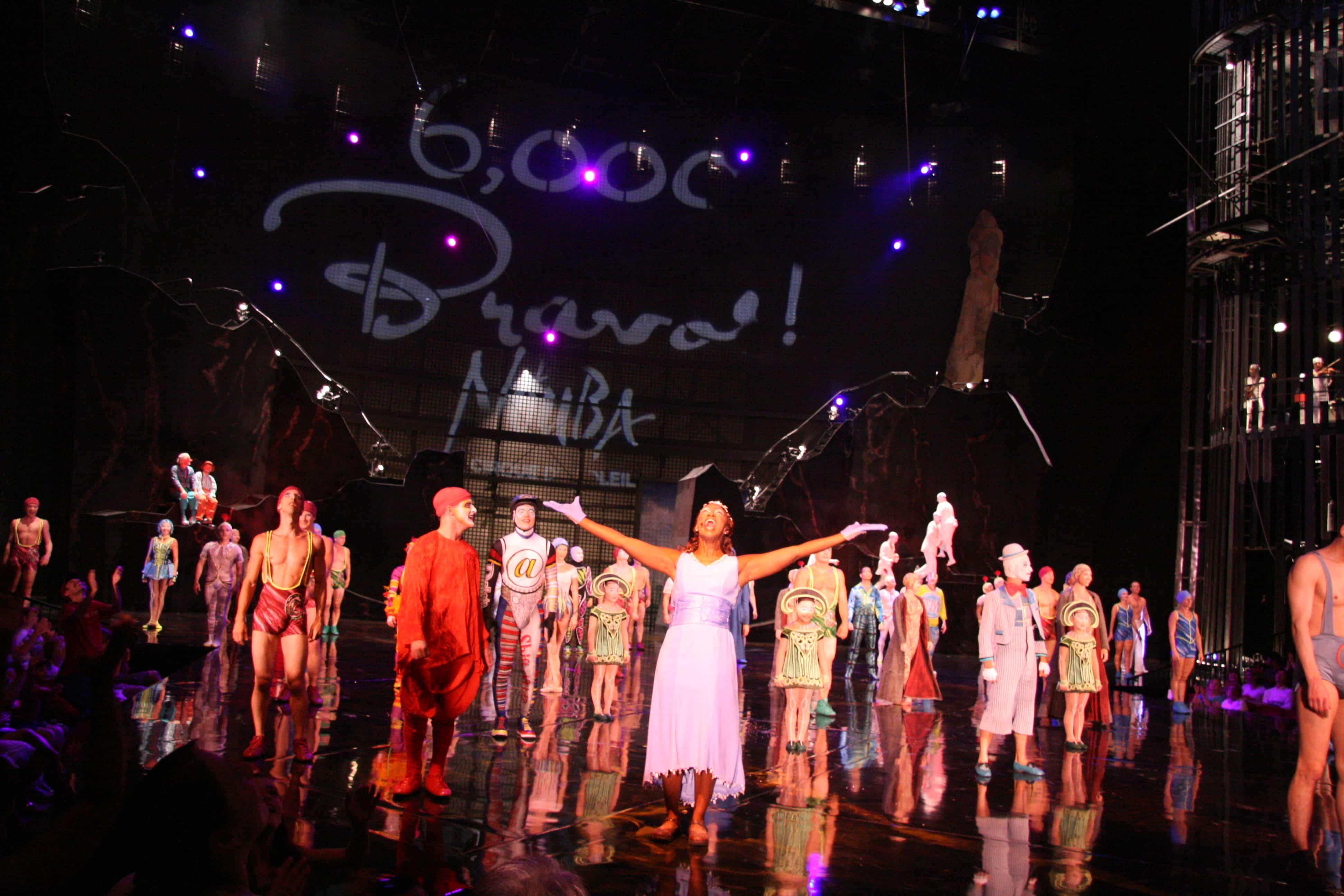 Cirque du Soleil La Nouba na Disney Orlando 3