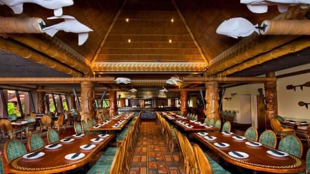 Restaurante Ohana da Disney