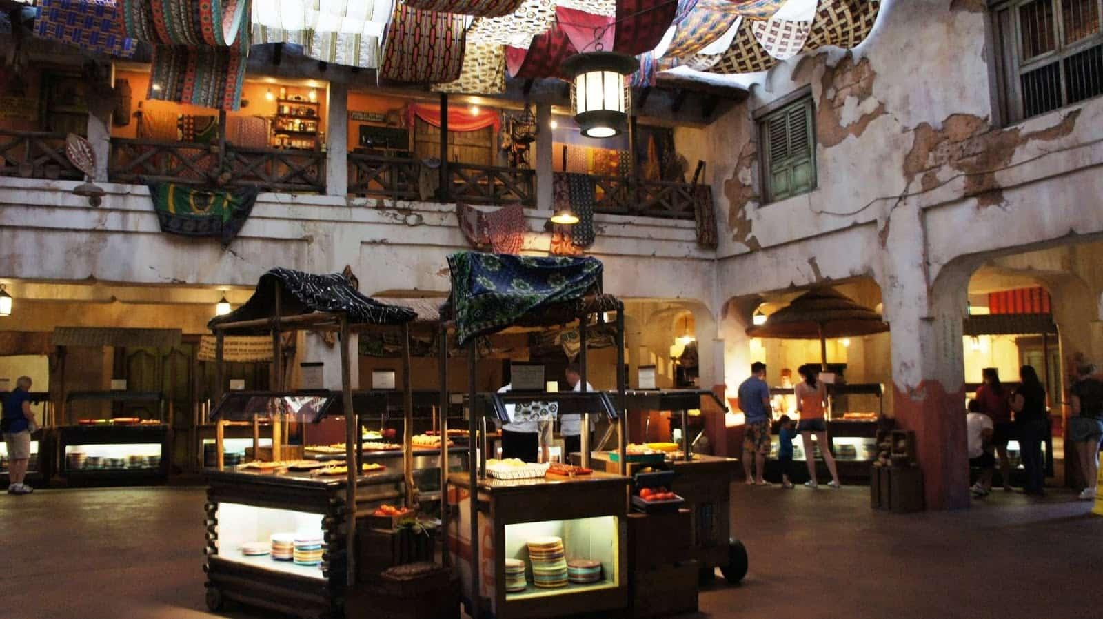 Restaurante Tusker House na Disney