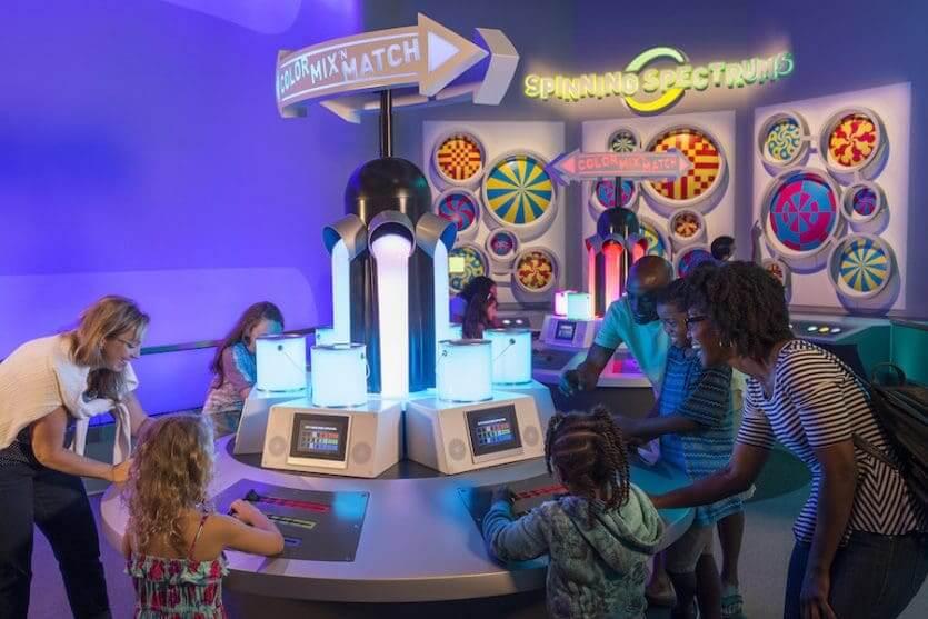 Atração Innoventions no Disney Epcot Orlando: Colortopia