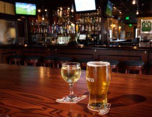 Cervejas e bebidas no  Pub Irlandês Frankie Farrell's em Orlando