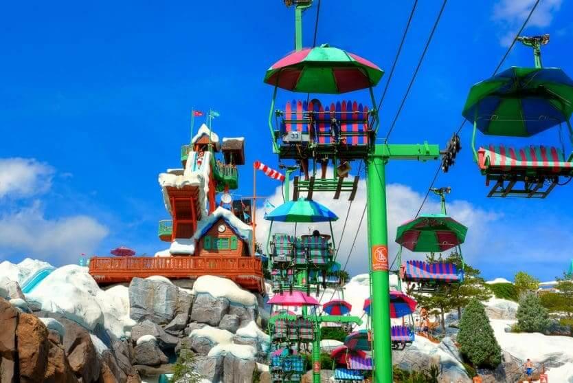 Vale a pena ir aos parques aquáticos da Disney: Blizzard Beach
