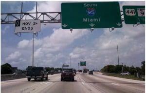Estrada-Turnpike-Orlando-Miami