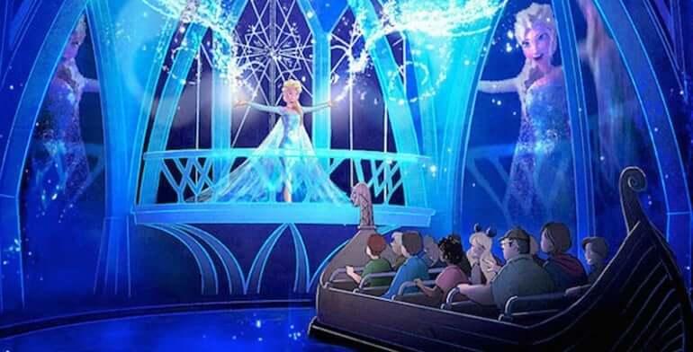 7 atrações e brinquedos do Parque Disney Epcot Orlando: Frozen Ever After