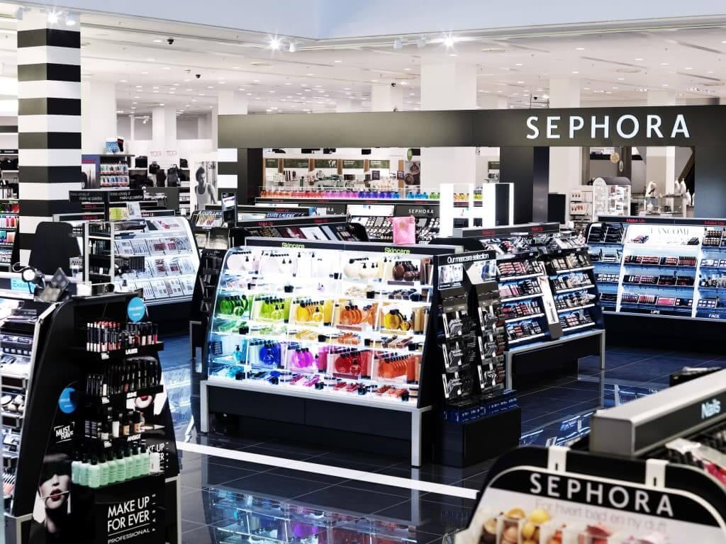 Loja Sephora em Orlando por dentro