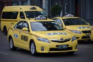 Como andar em Orlando e na Disney: taxi