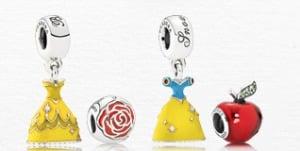 Charms da Disney para Pandora: princesas Disney