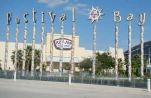 Shopping Festival Bay Mall em Orlando