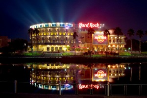 Restaurante e balada Hard Rock Cafe em Orlando