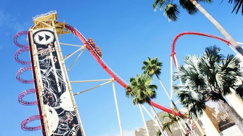 7 brinquedos mais radicais de Orlando:Hollywood Rip Ride Rockit