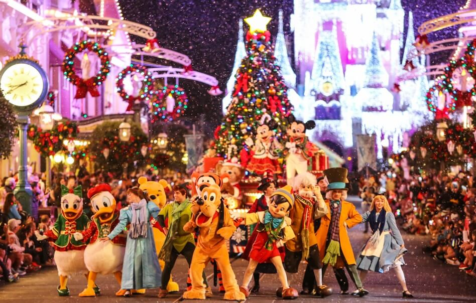 Natal e Ano Novo na Disney e Orlando: Mickey's Very Merry Christmas Party
