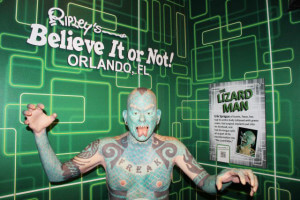 Museu Ripleys Believe it or Not em Orlando: Lizard Man