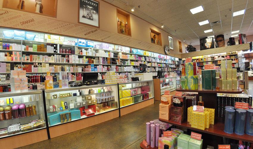 Loja Perfumeland em Orlando: perfumes