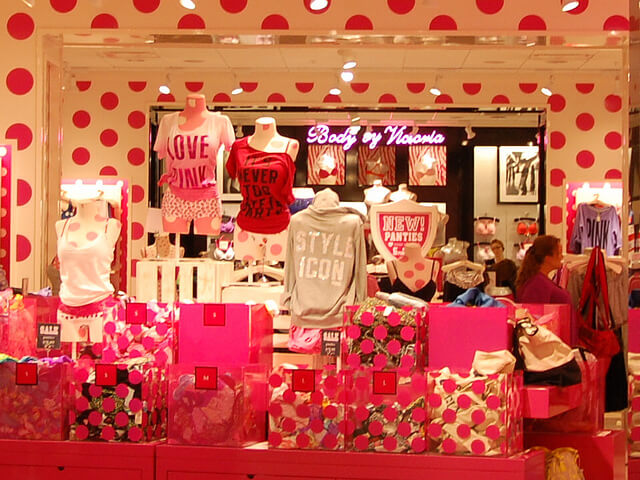Lojas Victoria's Secret em Orlando: Pink