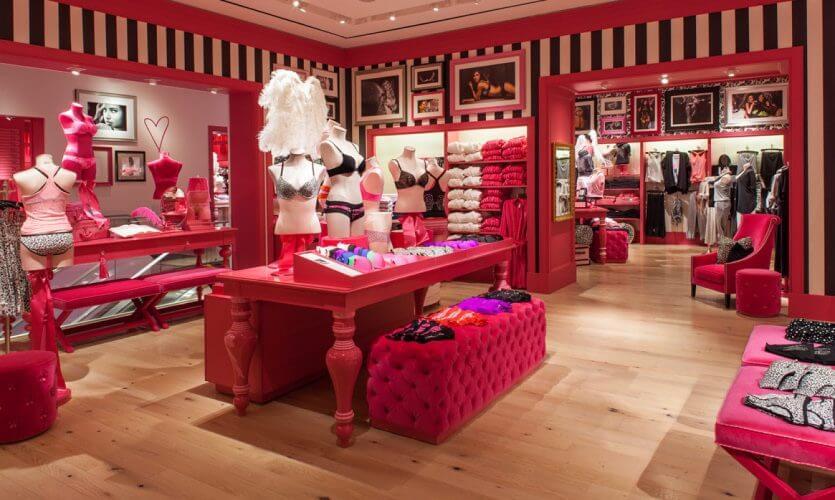 Lojas Victoria's Secret em Orlando: lingeries