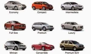 Melhor modelo de carro para alugar em Orlando: modelos disponíveis