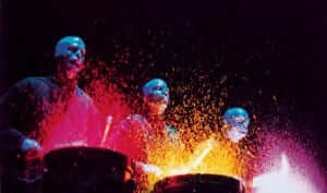 Show do Blue Man Group na Universal Orlando