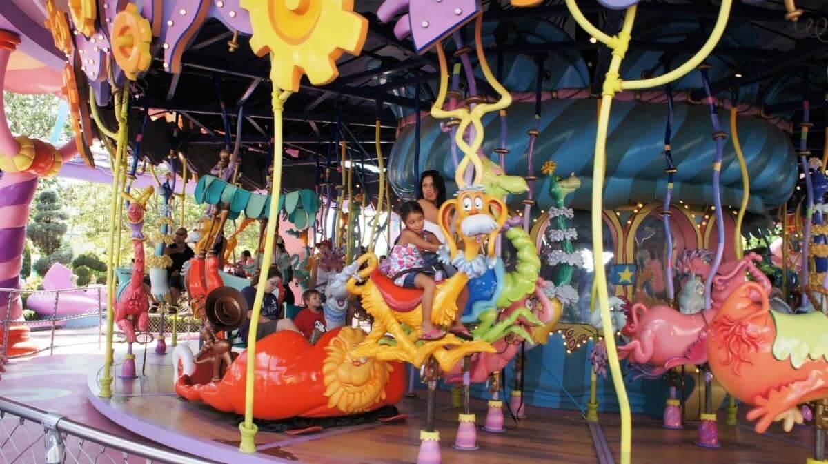 Parques para crianças em Orlando / Carrossel