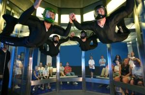 Simulador de pulo de para-quedas iFly Orlando