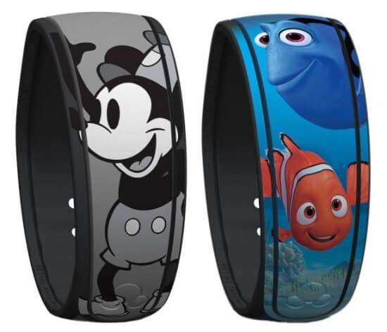 Novas pulseiras Magic Band da Disney Orlando