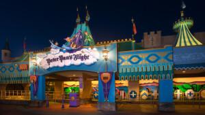 7 brinquedos para crianças em Orlando: Peter Pan's Flight