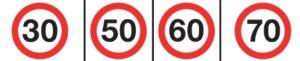 Como dirigir em Orlando: medida de milhas