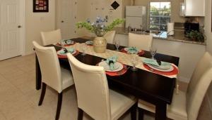 Aluguel de casas em Orlando: cozinha