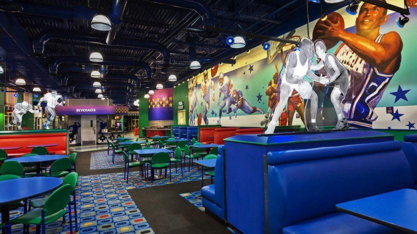 Hotel Disney All Star Sports em Orlando: restaurante