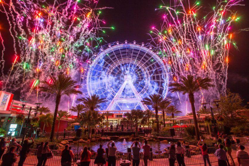Atrações além dos parques de Orlando: Orlando Eye
