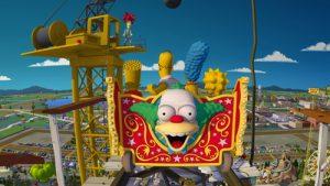 7 atrações e brinquedos do Parque Universal Studios Orlando: The Simpsons Ride