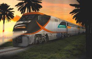 Trem que ligará Orlando e Miami em duas horas e meia