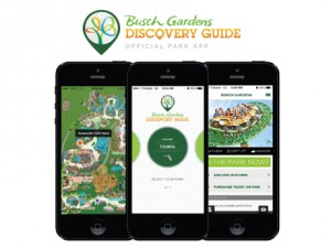 Aplicativos úteis para a Disney e Orlando: Busch Gardens Discovery Guide