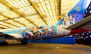 Avião da Disney da TAM