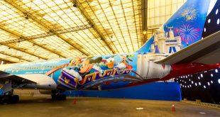 Avião da Disney da TAM 2
