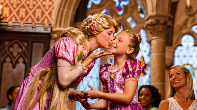 Como trabalhar na Disney em Orlando: área de Attractions/Princesas