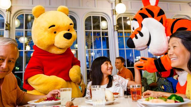 Restaurante Disney Crystal Palace Orlando