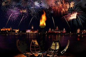 Shows da Disney em Orlando: fogos de artifício