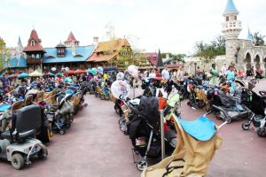 Como ir com bebês para Disney e Orlando: carrinhos de bebê na Disney