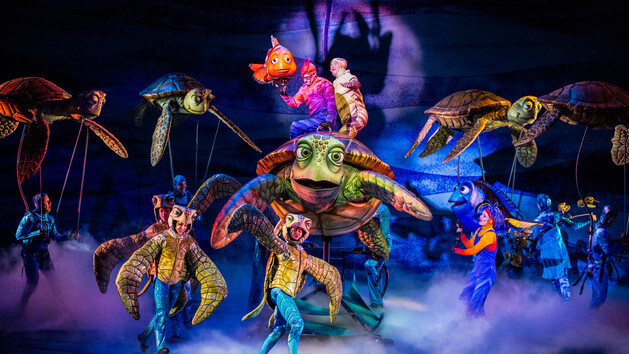 Shows, paradas e apresentações no parque Disney Animal Kingdom Orlando: Finding Nemo - The Musical