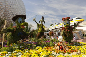 Curiosidades da Disney World Orlando: Flower and Garden Festival no Parque Epcot Orlando