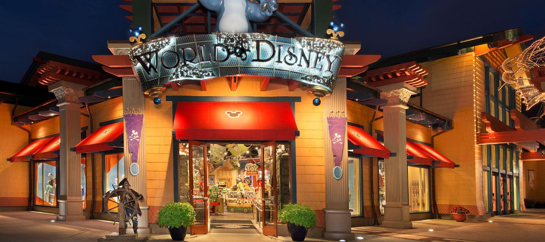 7 destaques no complexo Walt Disney World Orlando: Loja World of Disney
