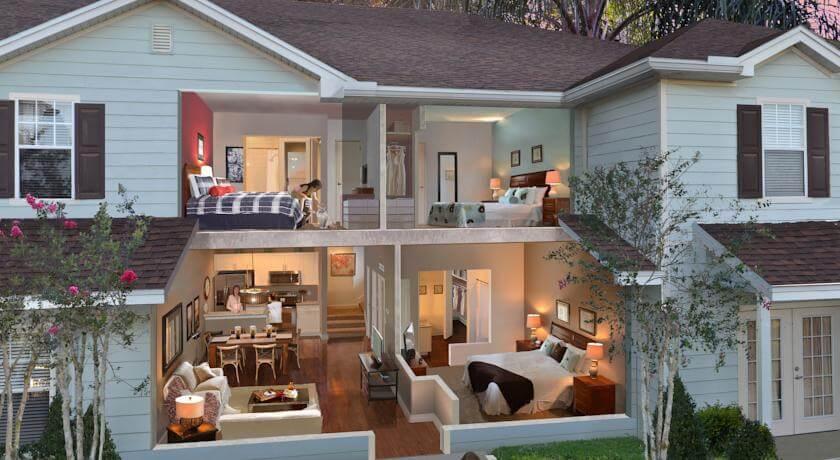 Melhores condomínios de casas em Orlando: Lucaya Village Resort