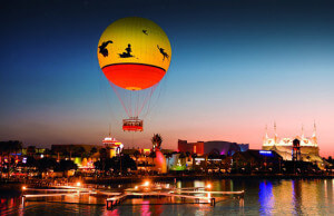 Lua de mel na Disney e Orlando: Aerophile
