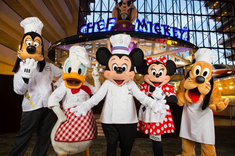 Restaurante Disney Chef's Mickey Orlando