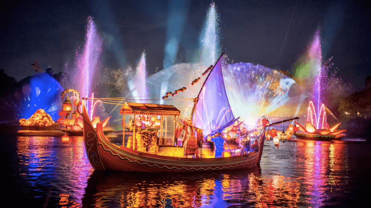 Shows, paradas e apresentações no parque Disney Animal Kingdom Orlando: Rivers of Light